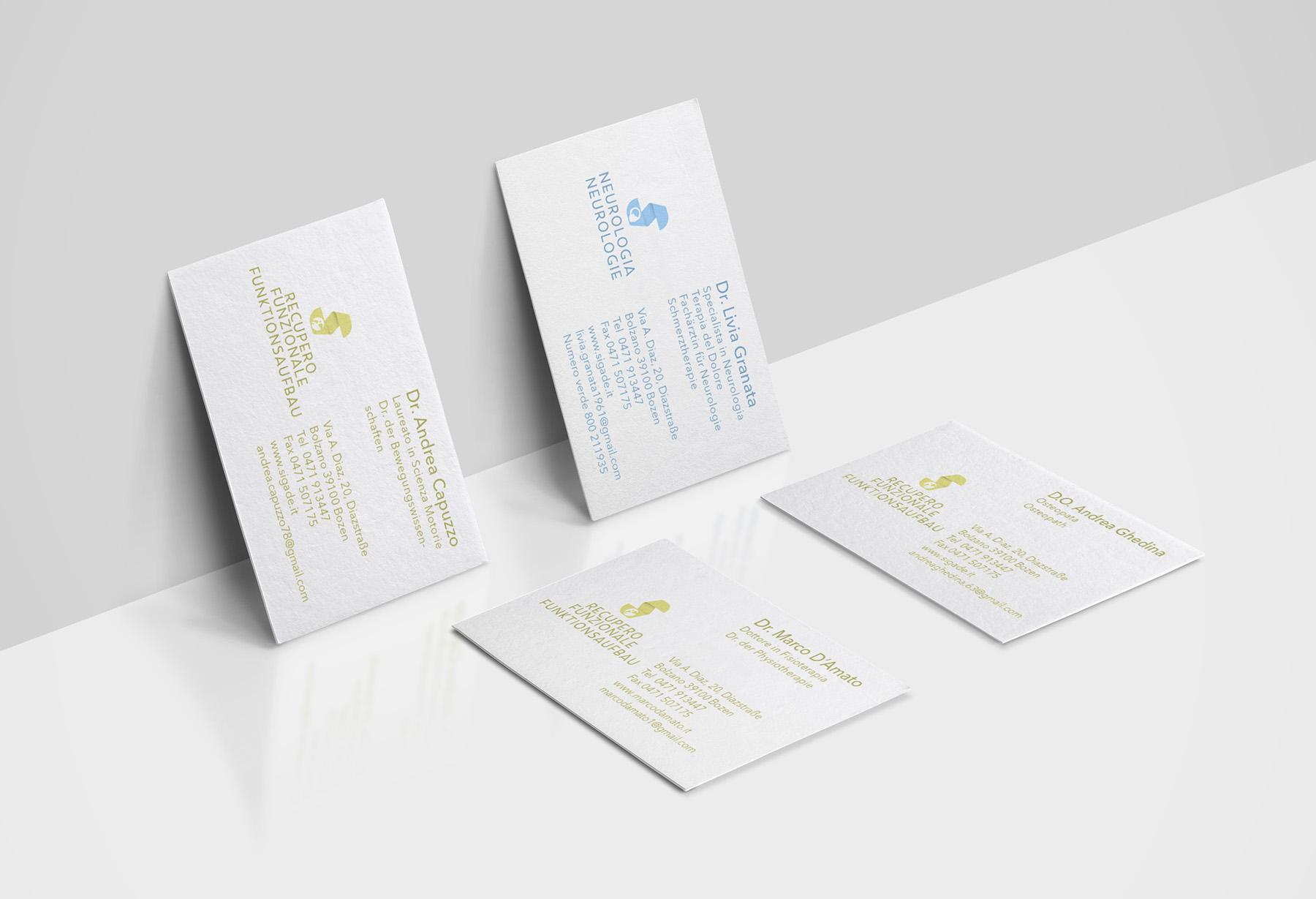 Cards – Sigade Studi Medici Arztpraxis