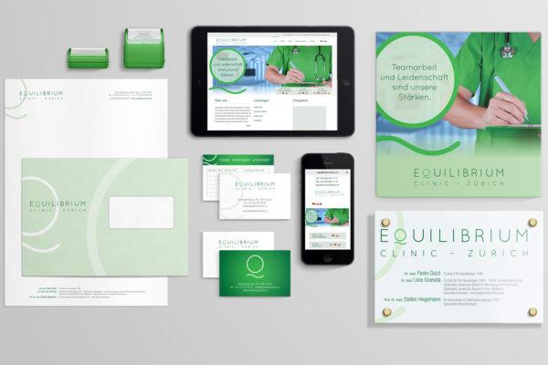 Branding – Equilibrium Clinic Zürich