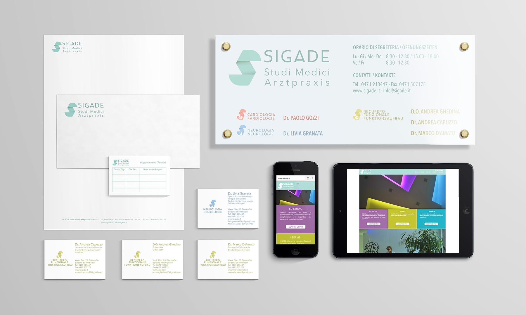 Branding – Sigade Studi Medici Arztpraxis