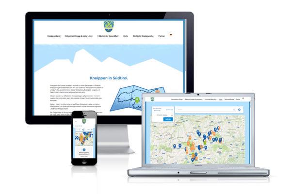 Site – Kneippen in Südtirol