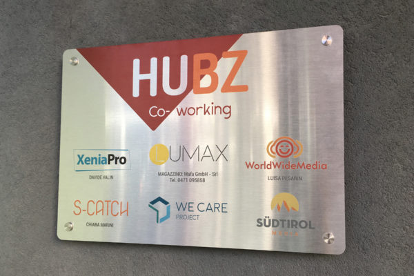 Office plate – HUBZ Co-working